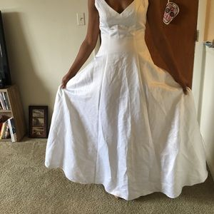 Mary's 2 piece wedding dress size 10